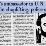 بازخوانی ماجرای دزدی پالتو توسط سفیر رژیم ولایی در سازمان ملل