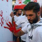 کاش معترضان لبنانی از تجربیات انقلابیون ۵۷ استفاده میکردند و به جای رنگ، باخون گوسفند که طبیعی تر است،بر دیوارها نقش میزدند!