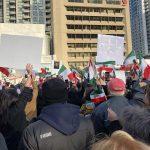 پشتیبانی ایرانیان تورنتو از اعتراضات مردم ایران