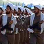 فیلم محل تجمع نیروی ویژه و پخش نوحه برای روحیه دادن به آنان در حمله به جوانان معترض- شیراز