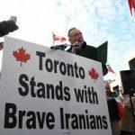 همبستگی ایرانیان تورنتو با مردم داغدار ایران