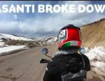 کمک های مردم به زن موتورسوار هلندی در سفر به ایران + ویدیو