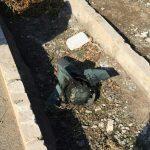 دم موشکی که هواپیمای اوکراینی را ساقط کرده درون جوی آب پیدا شد!