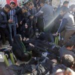 در هرج و مرج مراسم خاکسپاری سلیمانی در کرمان، صدها نفر کشته و زخمی شده اند!
