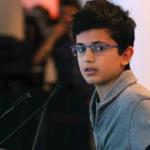 سخنان الهام بخش رایان, نوجوان ۱۳ ساله ایرانی-کانادایی, که پدرش در سقوط هواپیمای اوکراینی به قتل رسید (کلیپ کوتاه انگلیسی)