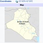 یک مشاهده معنی دار از ترافیک هوایی عراق در زمان حمله موشکی