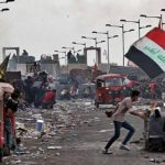 گسترش تظاهرات شبانه در میدان تحریر بغداد و ذی قار در همبستگی و حمایت از مردم نجف (ویدئو)