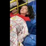 فیلم غم انگیز از کودکان  در گیر دشواری های تنفسی (کرونا؟)،  در بیمارستان علی اصغر شیراز