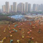 ساخت دو بیمارستان بزرگ در چین در کمتر از 2  هفته