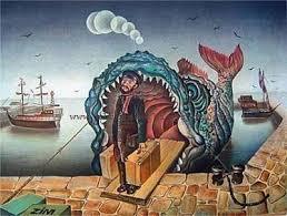 یونس در شکم نهنگ