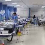 ویدئوی «بستری» شدن مبتلایان به کرونا در راهروهای بیمارستان صیاد شیرازی گرگان