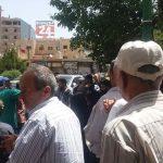 سومین روز تظاهرات ضد اسد در سویدای سوریه Jun 10, 2020 (کلیپ کوتاه)