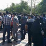 ضرب شست نیروی انتظامی به پرستاران خسته و معترض مشهد