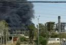 انفجار  در نیروگاه زرگان اهواز