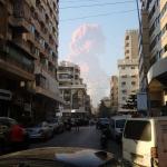 درگیری گسترده پلیس با تظاهر کنندگان در بیروت و پرتاب گاز اشک آور (کلیپ های کوتاه)