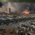 مجموعه ویدئوها از انفجار بیروت (۴۵ دقیقه)