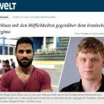 روزنامه آلمانی : به رفتار محترمانه با این رژیم پایان دهید!