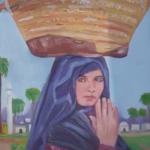 نمایشگاۀ خیابانی نقاشی زیر نام «هفت شهر عشق» در شهر مزارشریف (کلیپ کوتاه)