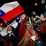 نتیجه رفراندوم: مردم شیلی به تغییر قانون اساسی «آری» گفتند