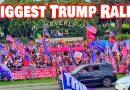 بزرگترین تجمع مسالمت آمیز حامیان ترامپ در بورلی هیلز کالیفرنیا (ویدئو ۱۸ دقیقه)