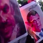 چند کلیپ از تظاهرات مسلمانان بر علیه امانوئل مکرون و فرانسه در کشورهای مختلف اسلامی