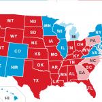 نتیجه موقتی انتخابات ریاست جمهوری آمریکا