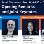 دعوت اتحادیه اروپا از جواد ظریف برای شرکت در کنفرانس توسعه تجاری