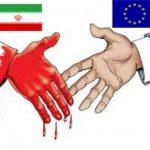 درپی اعتراض کاربران ایرانی نشست همکاری تجاری اروپا با رژیم تروریستی به تعویق افتاد