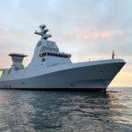 "تحویل ناوچه مدرن آلمانی ""سپر"" به نیروی دریایی اسرائیل (+ ویدئو)"