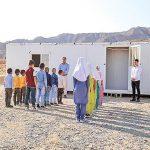 برخورد صاعقه به مدرسه کانکسی در خوزستان: زخمی شدن سه معلم و دو دانشآموز