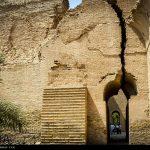 عدم مرمت طاق کسری از سوی مسوولان ج/ا و خرج میلیاردها دلار برای حسینیه در عراق