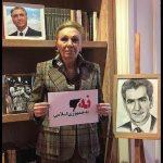 پیوستن شهبانو فرح پهلوی به کمپین نه به جمهوری اسلامی و گسترش روزافزون آن در میان مردم
