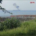 یک نفتکش رژیم در سواحل سوریه را زدند