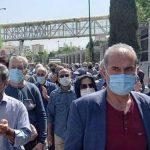 گزارشی از تجمع سراسری بازنشستگان و مستمری بگیران تامین اجتماعی در تداوم یکشنبههای عصیان