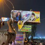 پایینکشیدن بیلبورد خامنهای و قاسم سلیمانی در بغداد به دستور الکاظمی