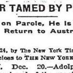 عاقبت «سر زیر  برف کردن»: نوشته صد سال پیش نیویورک تایمز در مورد هیتلر