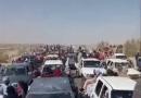 تصاویر از مرز ایران و افغانستان: مردم  افغانستان با پاهایشان رایشان را اعلام میکنند